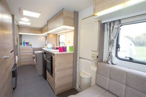 Beds for six in a lightweight caravan that's at a budget price