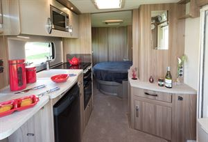The 580 transverse-bed layout is fast becoming the UK's most popular for couples