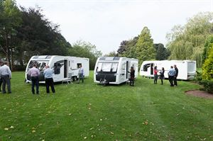 Caravan retailers get a preview of the Alaria range