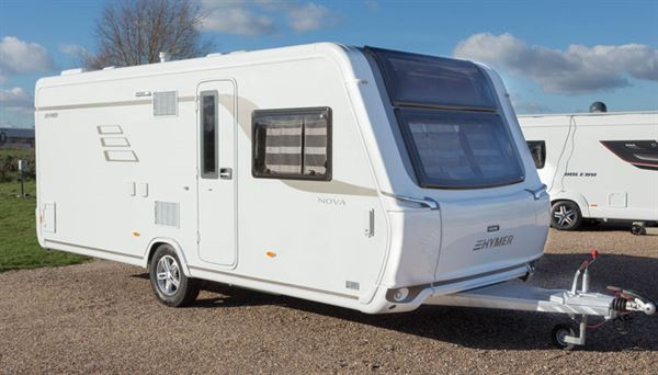 05ce973d88ec55 Hymer Nova 545 GL - caravan review - Reviews - New   Used Caravans ...