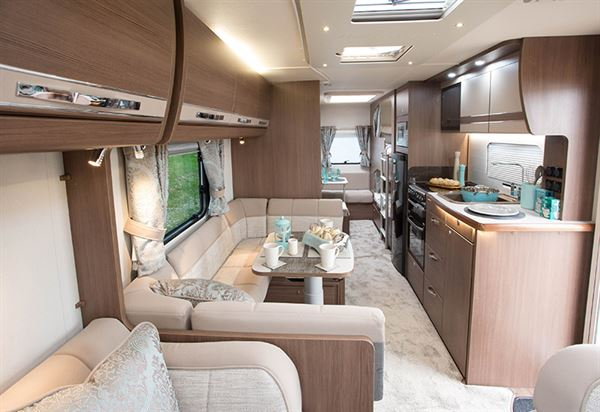 Buccaneer galera caravan review reviews new used for U shaped dining room