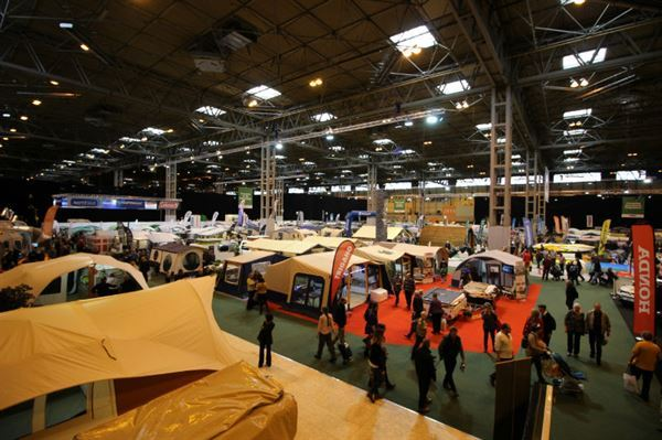 The NEC Motorhome and Caravan Show