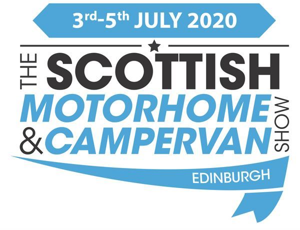 The Scottish Motorhome & Campervan Show will be in Edinburgh from 3-5 July 2020