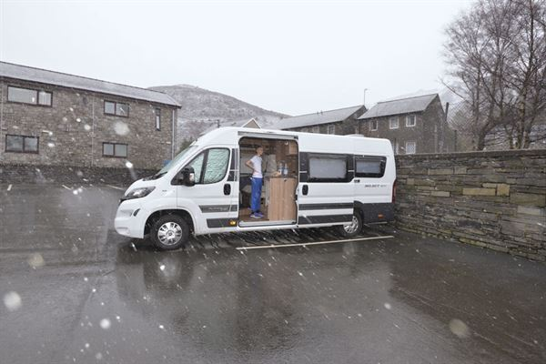 It's important to prepare your campervan for winter