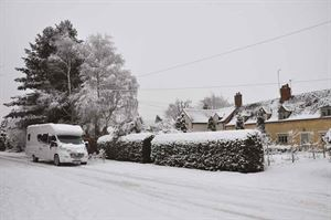 Winter touring in motorhomes is becoming more popular