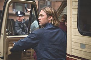 Spot the lovely beige sides of this RV that outshone Brad Pitt in World War Z