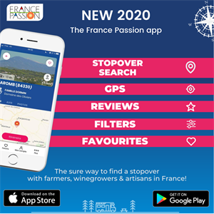 The France Passion app is now available on Apple Store and Google Play