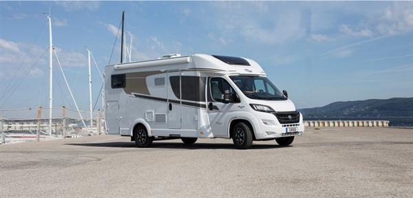 The new Carado T334 low-profile motorhome