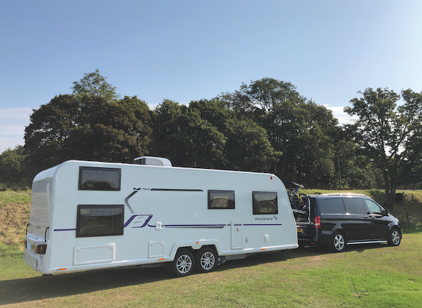 A beginner's guide to hitching and towing a caravan
