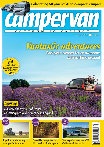 You can now download the August issue of Campervan