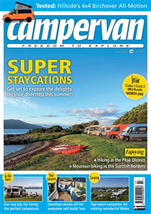 You can read the July issue of Campervan now