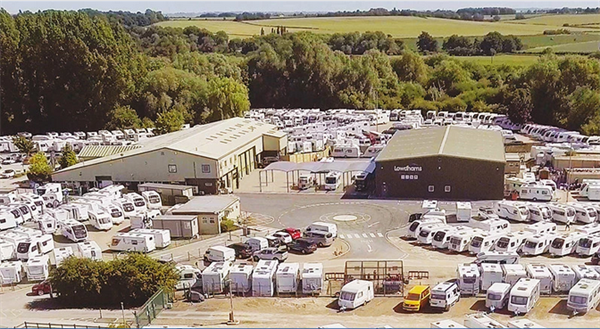 Motorhome and campervan dealers like Lowdhams Leisureworld are opening again on Monday 1 June