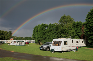 Abbey Wood Caravan Club Site in London