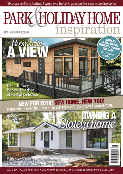 Park & Holiday Home Inspiration Spring issue