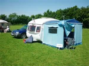 Is your classic caravan the oldest? Get in touch with Salop Leisure