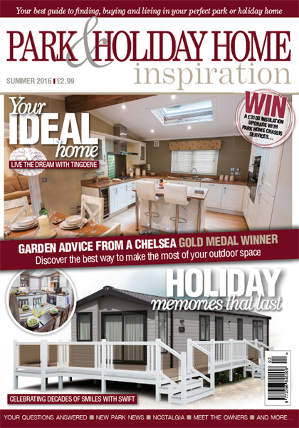 Park & Holiday Home Inspiration Summer 2016 issue