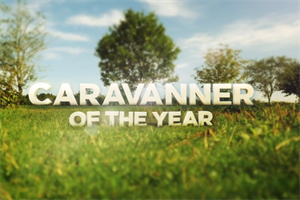 Caravanner of the Year with the Caravan Club