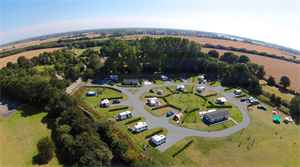 Concierge Camping from above is simply stunning