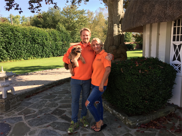Meet the owners... Guy and Tracey Hodgkin