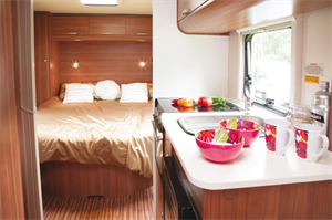 Guide to the caravan interior and layouts