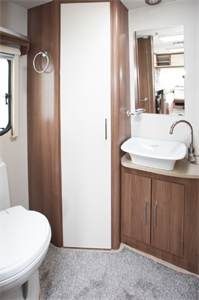 Caravan washing and showering