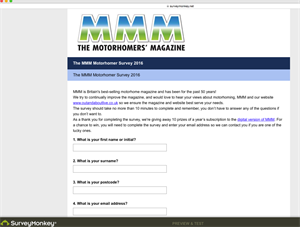 The 2016 MMM Motorhome Survey is now live!