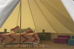 New Bell Tents at Ladam Bay