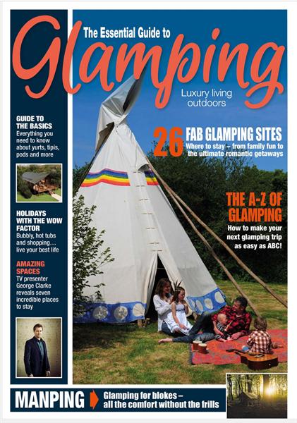 Glamping digital magazine