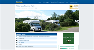 View campsite details at a glance