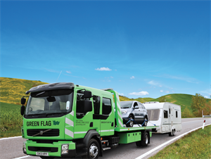 Mayday vehicle rescue is provided by Green Flag