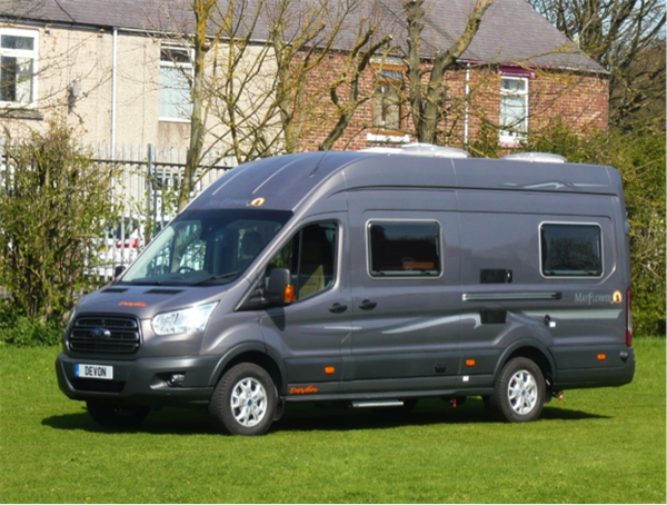 Based On A Ford Transit The Mayflower Is Over 6m Long