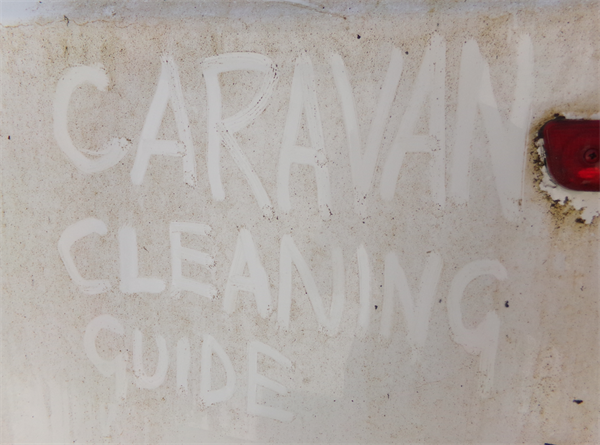 Caravan cleaning guide