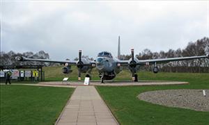 Cold War jinks at RAF Cosford