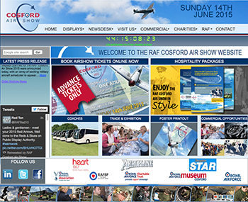 The Air Show will be a popular event