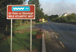 Caravan Ireland's Wild Atlantic Way, today   PART TWO
