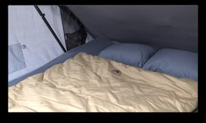 Land Rover Defender bed
