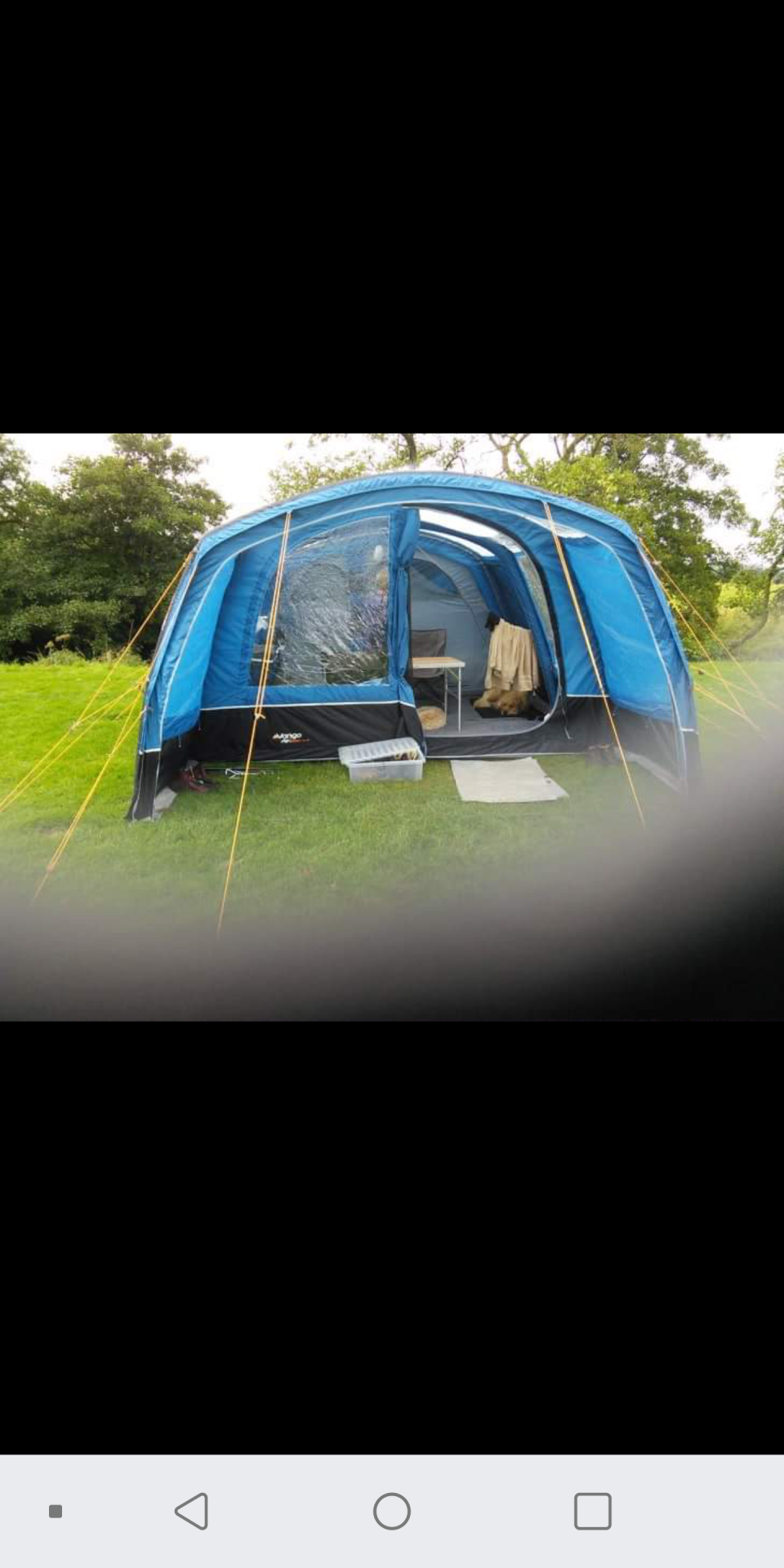 Vango Edoras 500xl airbeam
