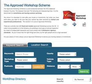 Search for the nearest Approved Workshop