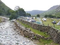 Seathwaite Farm Camping Site