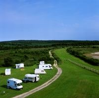 Exeter Racecourse Caravan and Motorhome Club Site