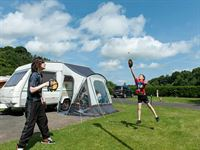 Jedburgh Camping and Caravanning Club Site