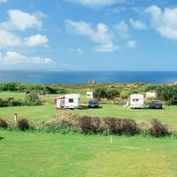 St Agnes Beacon Caravan and Motorhome Club Site