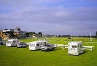 Thirsk Racecourse Caravan and Motorhome Club Site